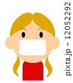 風邪引き女の子 12052292