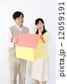マイホーム と 悩む夫婦 12059191