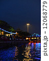 愛河 夜景 イルミネーションの写真 12068779