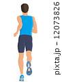 ランニング 走る イラストのイラスト 12073826