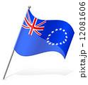 旗 フラッグ フラグのイラスト 12081606