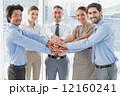ビジネスマン ビジネスピープル チームの写真 12160241