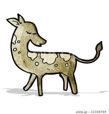 pretty cartoon deerのイラスト素材 [12169794] - PIXTA