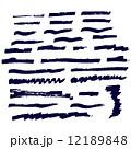 描く 刷毛 磨くのイラスト 12189848