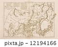 世界地図 古地図 朝鮮半島の写真 12194166