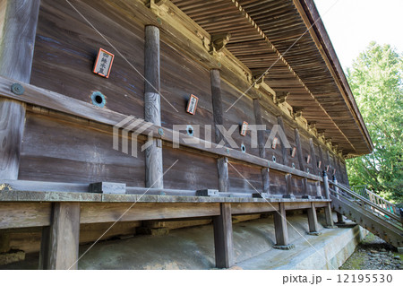 広峰神社 本殿裏側九星詣りの写真素材 [12195530] - PIXTA