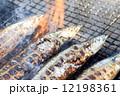 塩焼き 焼き魚 秋刀魚の写真 12198361