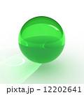 球 トゲトゲ 立体のイラスト 12202641