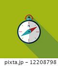 コンパス フラット 平のイラスト 12208798