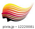 女性 髪型 女のイラスト 12220081