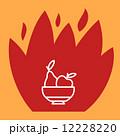 梨 洋梨 お皿のイラスト 12228220