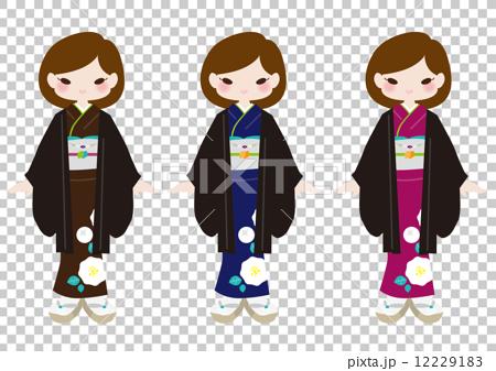 기모노 - 하오 - 칙 12229183