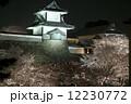 夜桜 金沢城 12230772