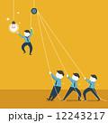 電球 球根 球のイラスト 12243217