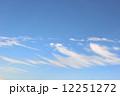 雲 青空 空の写真 12251272