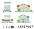 家とマンションのセット 12257997