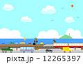 踏切と海 12265397