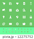 General folder color icons on green background 12275752