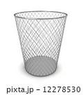 ゴミ箱 かご カゴのイラスト 12278530