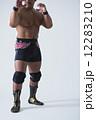 構える 格闘家 プロレスラーの写真 12283210