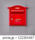 ポスト 郵便 配置のイラスト 12283487