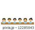 学校 子供 勉強 学習 歌う 12285043
