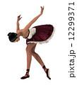 バレリーナ 舞踊 踊りのイラスト 12299371