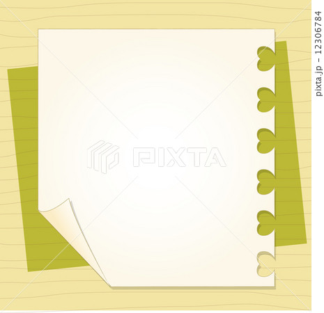 template frame design for greeting cardのイラスト素材 12306784 pixta