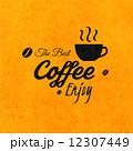 喫茶店 ベクトル コーヒーのイラスト 12307449