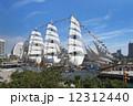 帆船日本丸の総帆展帆・満船飾 12312440