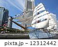 帆船日本丸の総帆展帆・満船飾 12312442