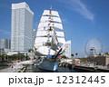 帆船 日本丸 みなとみらいの写真 12312445