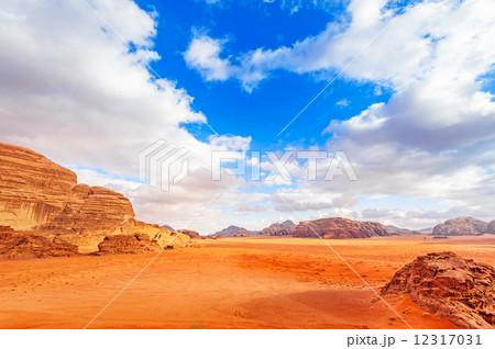 ヨルダンの砂漠