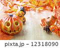 ハロウィンの飾り 12318090