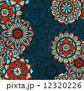 Seamless Mandalas Pattern 12320226