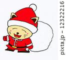 猫のサンタクロース 12322216