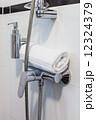 Hotel Bathroom in White Tones 12324379