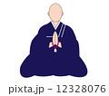 ベクター 和尚 僧侶のイラスト 12328076