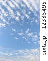 雲 青空 空の写真 12335495