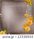 Vintage background for album or congratulation card with roses a 12336934