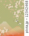 桜と鶴 12342468