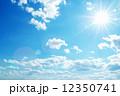 紺碧 大気 空中の写真 12350741