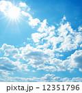紺碧 大気 空中の写真 12351796