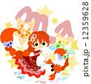 星占いの蠍座をイメージしたイラスト 12359628