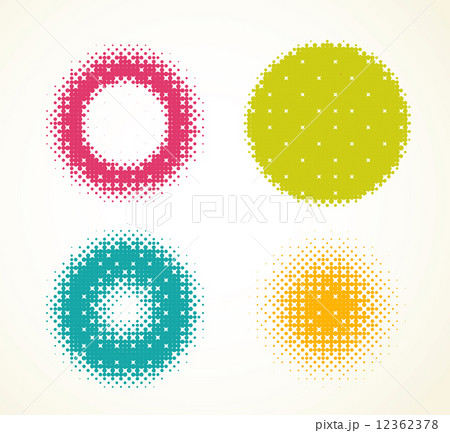 Halftone vector backgroundのイラスト素材 [12362378] - PIXTA