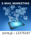 マーケティング マーケッティング Eメールのイラスト 12376287