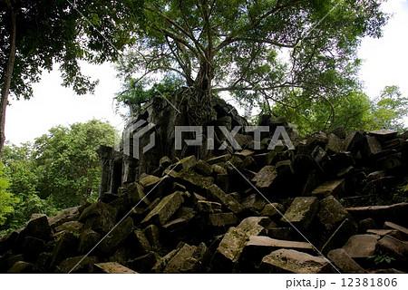 カンボジア ベンメリア遺跡 12381806