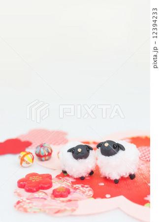 仲良しひつじさんの写真素材 [12394233] - PIXTA