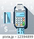 レシート 支払い 支払のイラスト 12394899