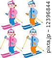 スキー 12396844